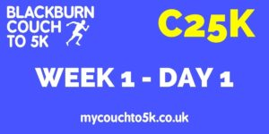 Week One, Day One Couch to 5K