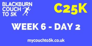Week Six, Day Two Couch to 5K