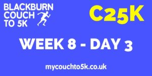 Week Eight, Day Three Couch to 5K