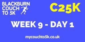 Week Nine, Day One Couch to 5K