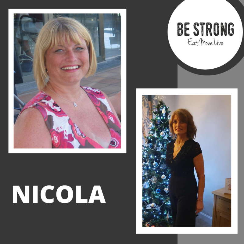 Nicola is glad she was able to learn how to lose weight properly