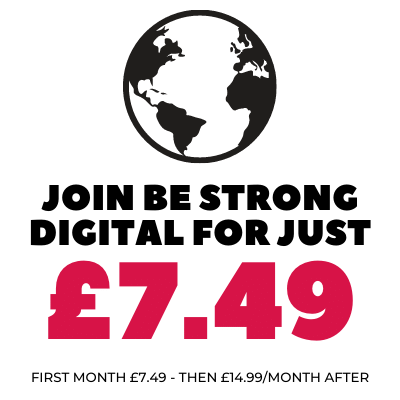 Join Be Strong Digital for only £7.49